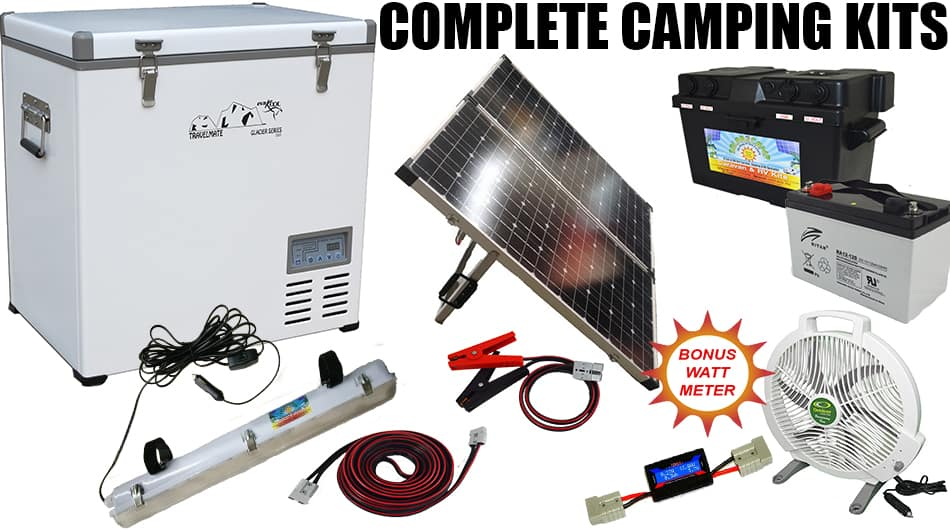 NEW complete camping kit