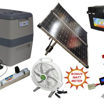 Solar 2 Camp Complete Camping Kit