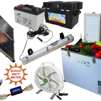 Solar 2 Camp Complete Solar Camping Kit